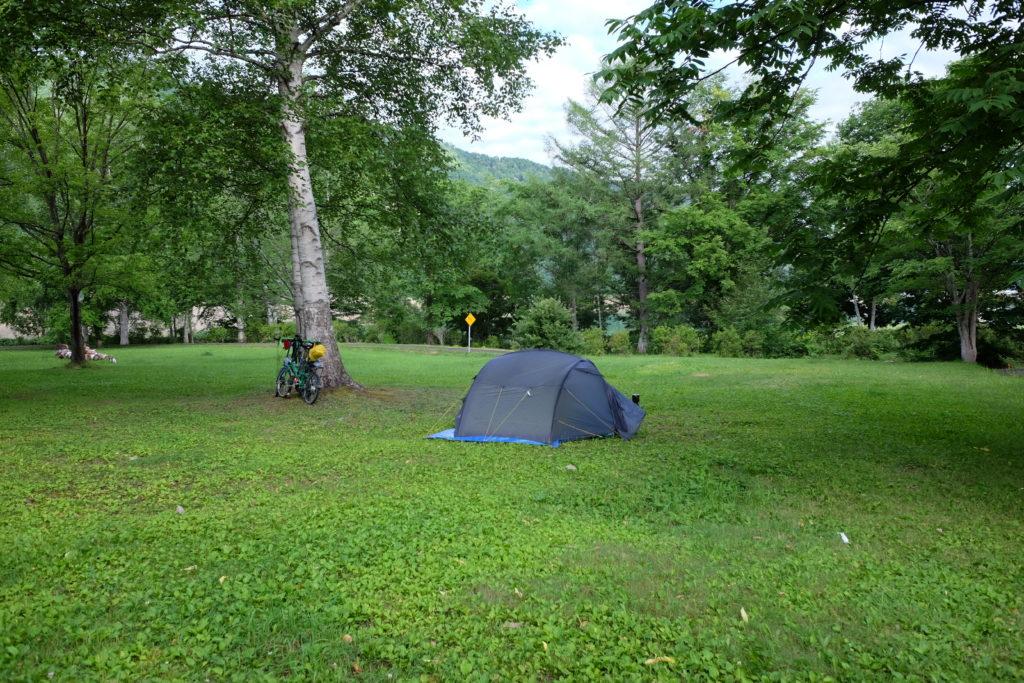 Kostenlose Zeltplätze