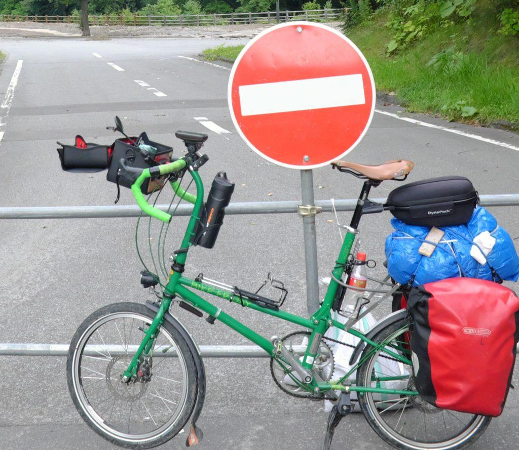 Bike Friday grün