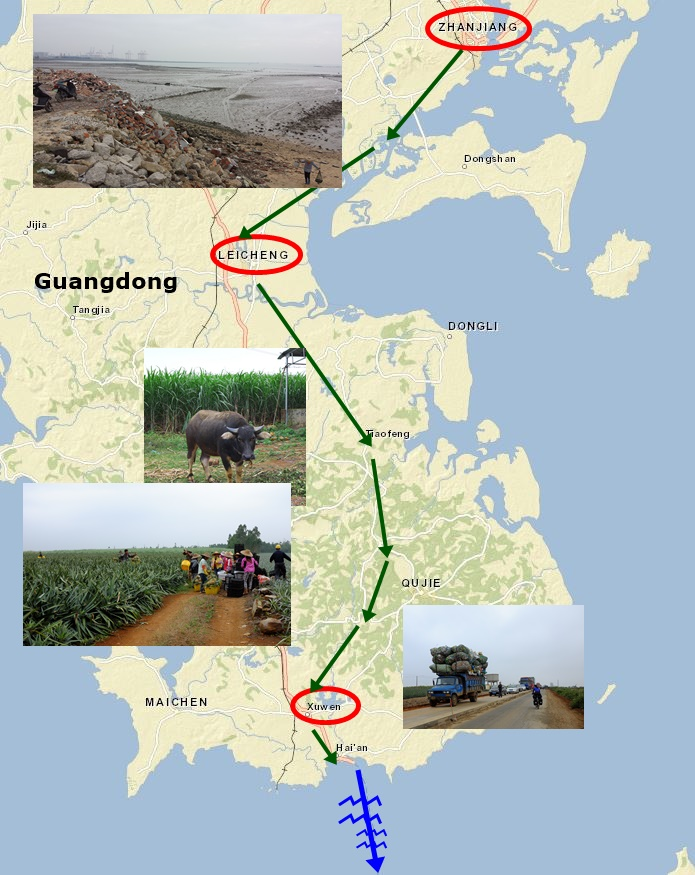 Südchina Guangdong