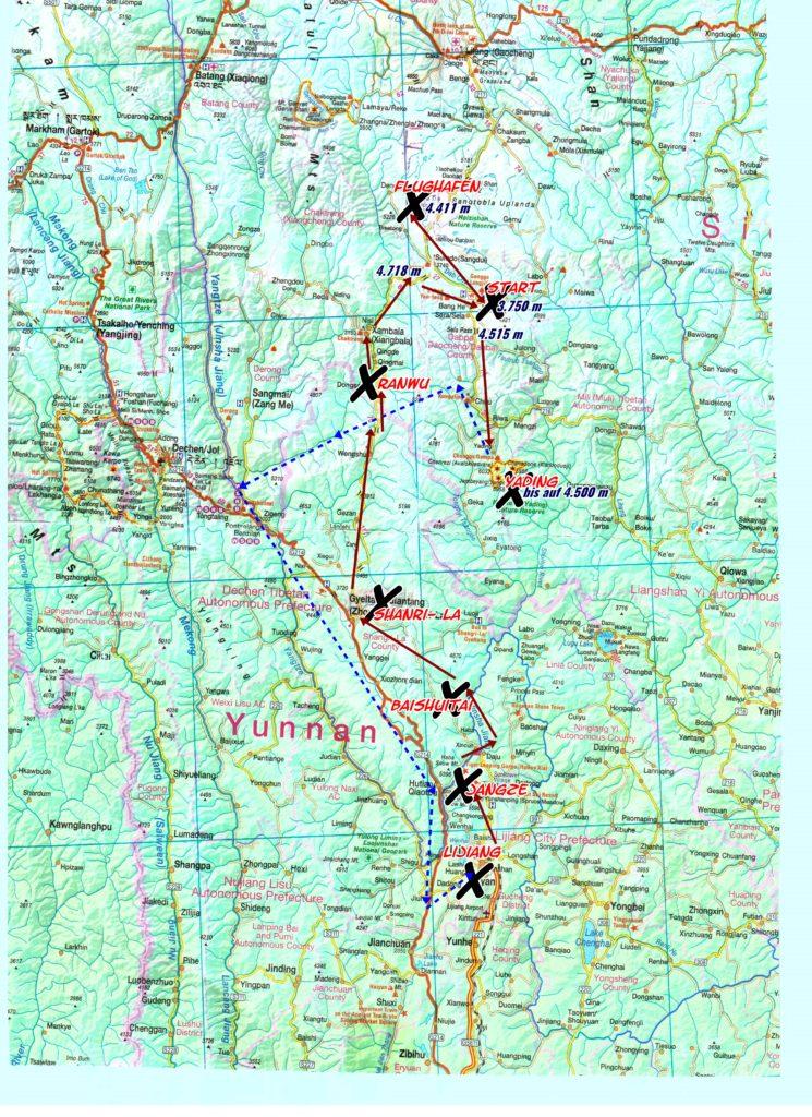 Osttibet Route