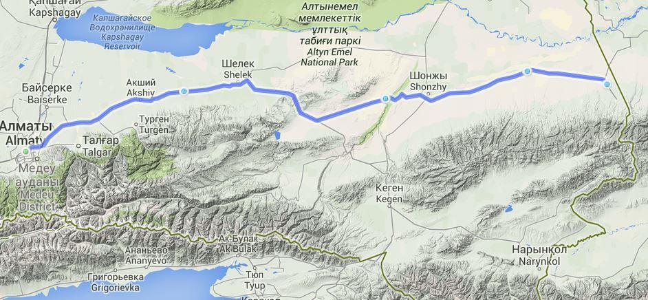 Kasachstan- China
