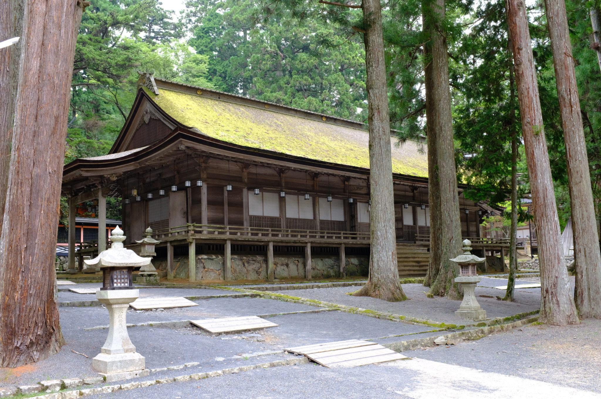 Tempel in Koya