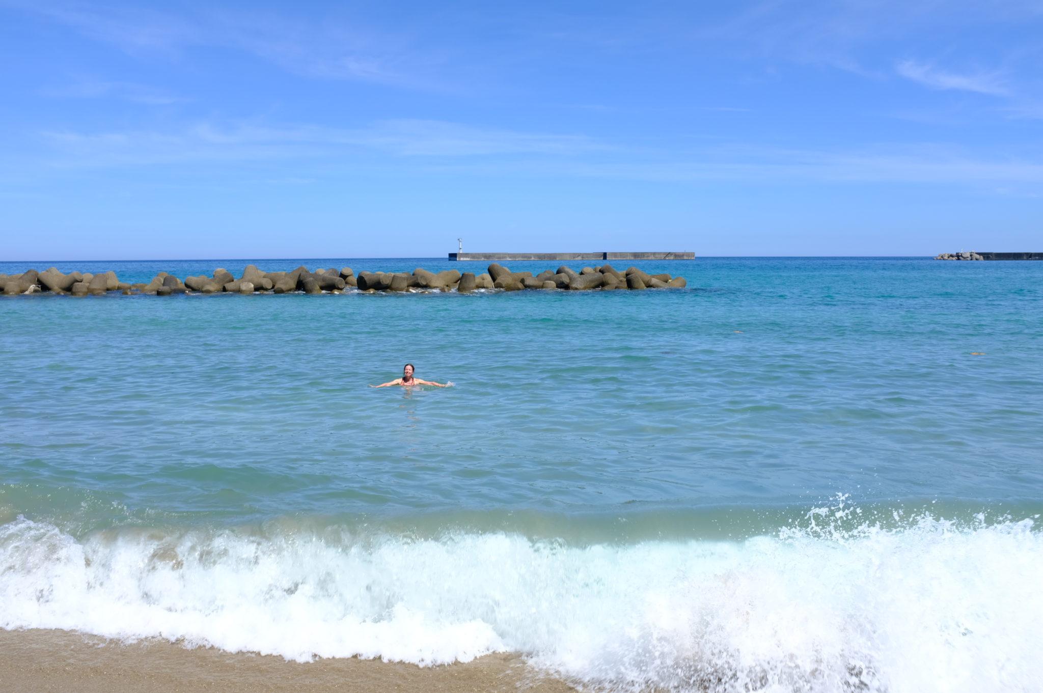 Das dritte Bad im Meer