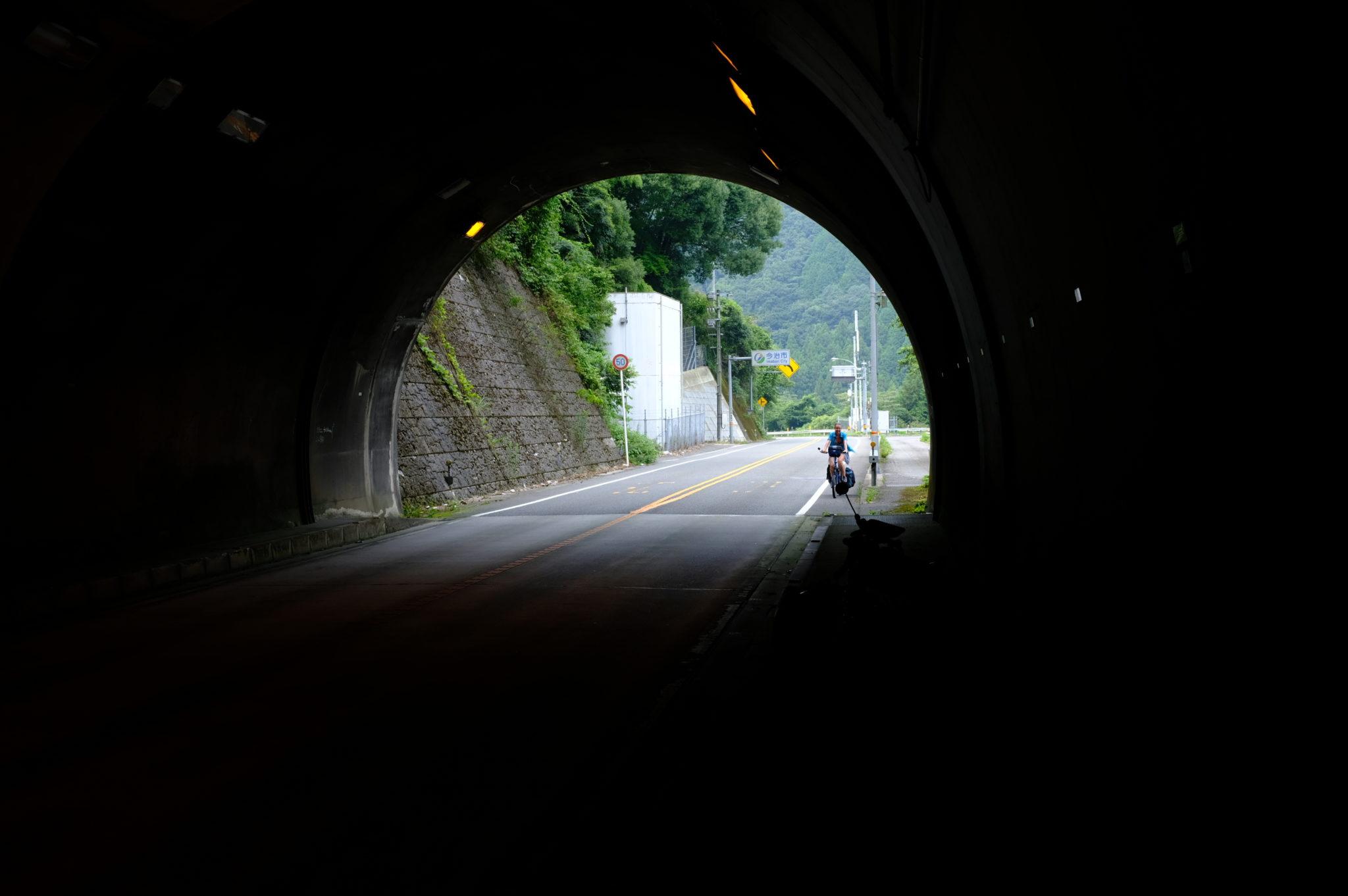 Vor dem längsten Tunnel