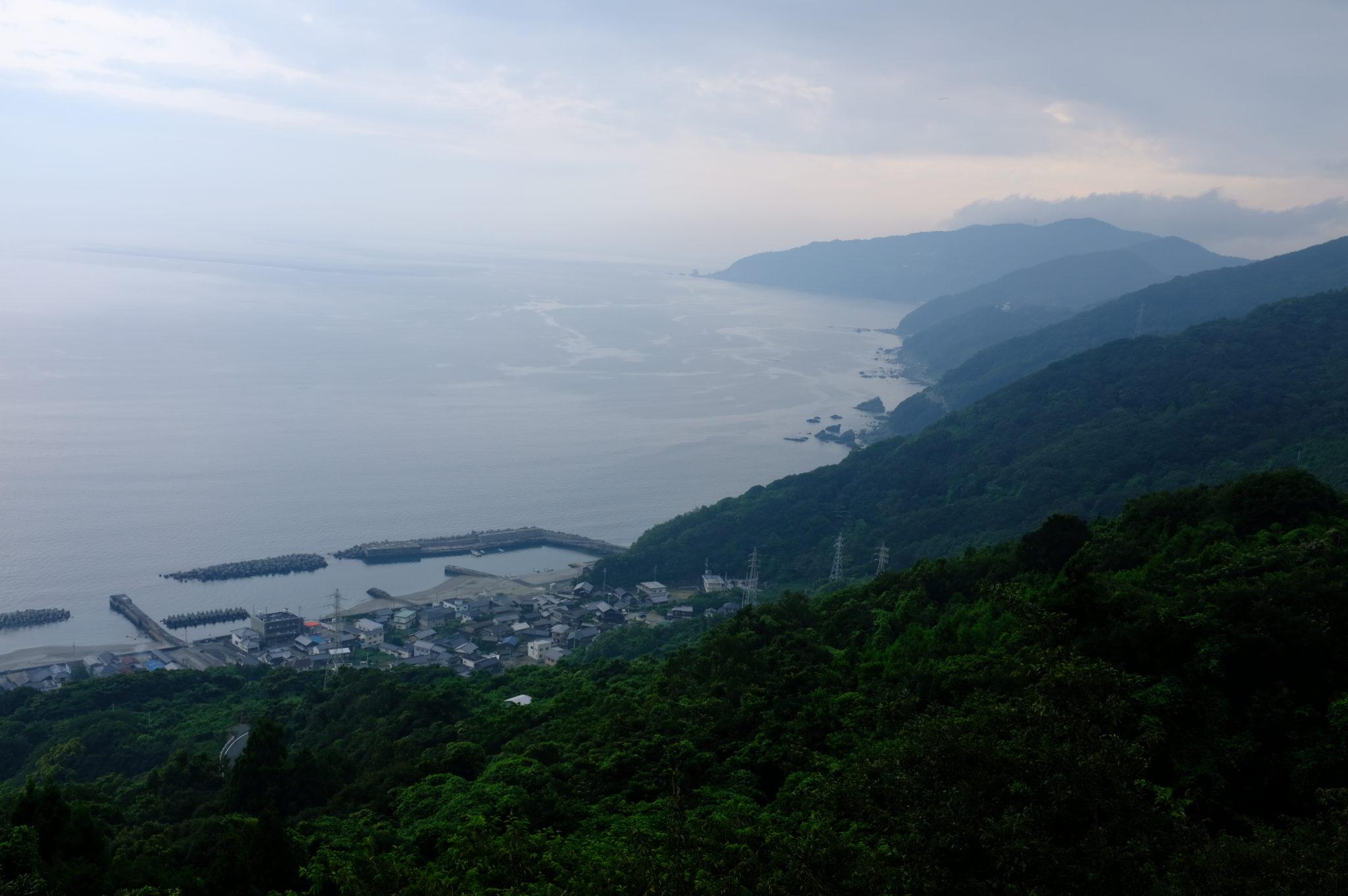 Das westliche Ende von Shikoku