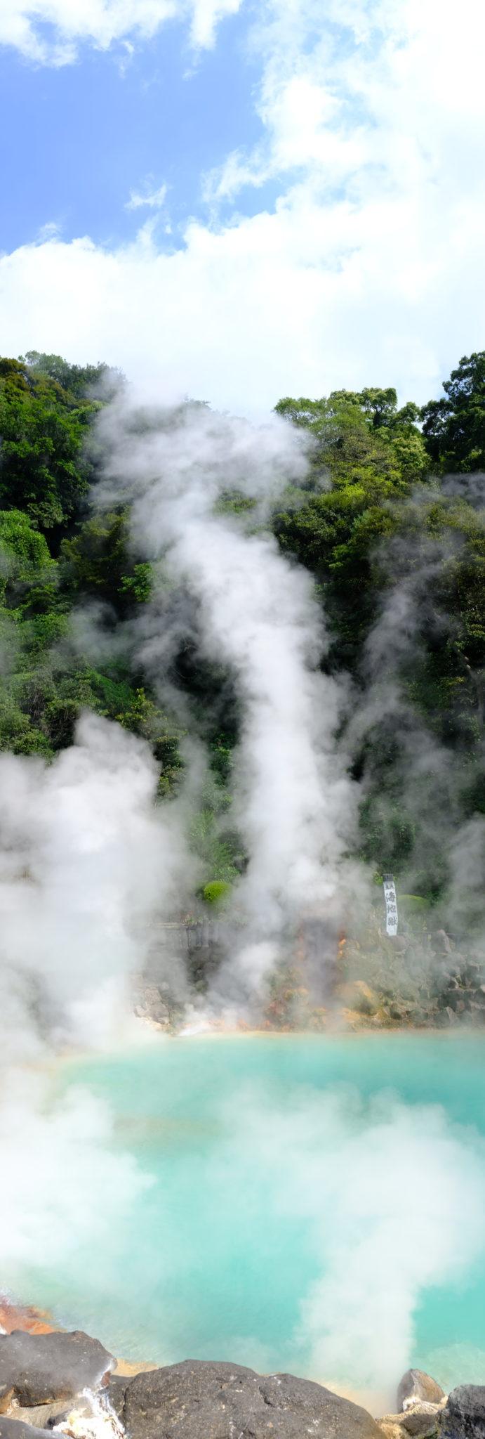 Über 100 Grad heißer Dampf