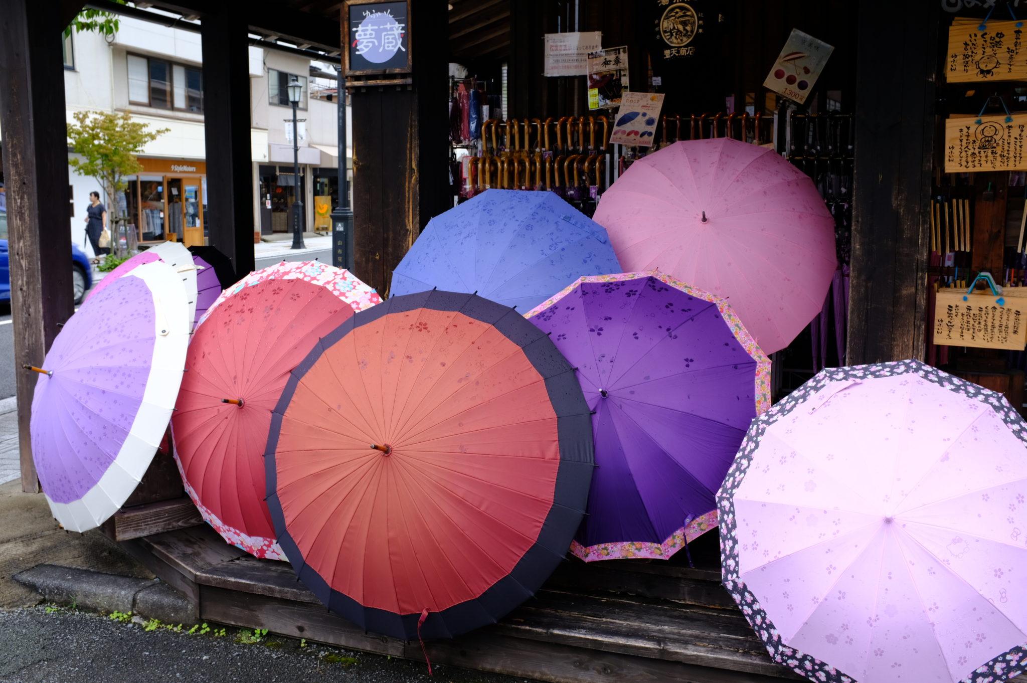 Schirme haben wir nicht gekauft
