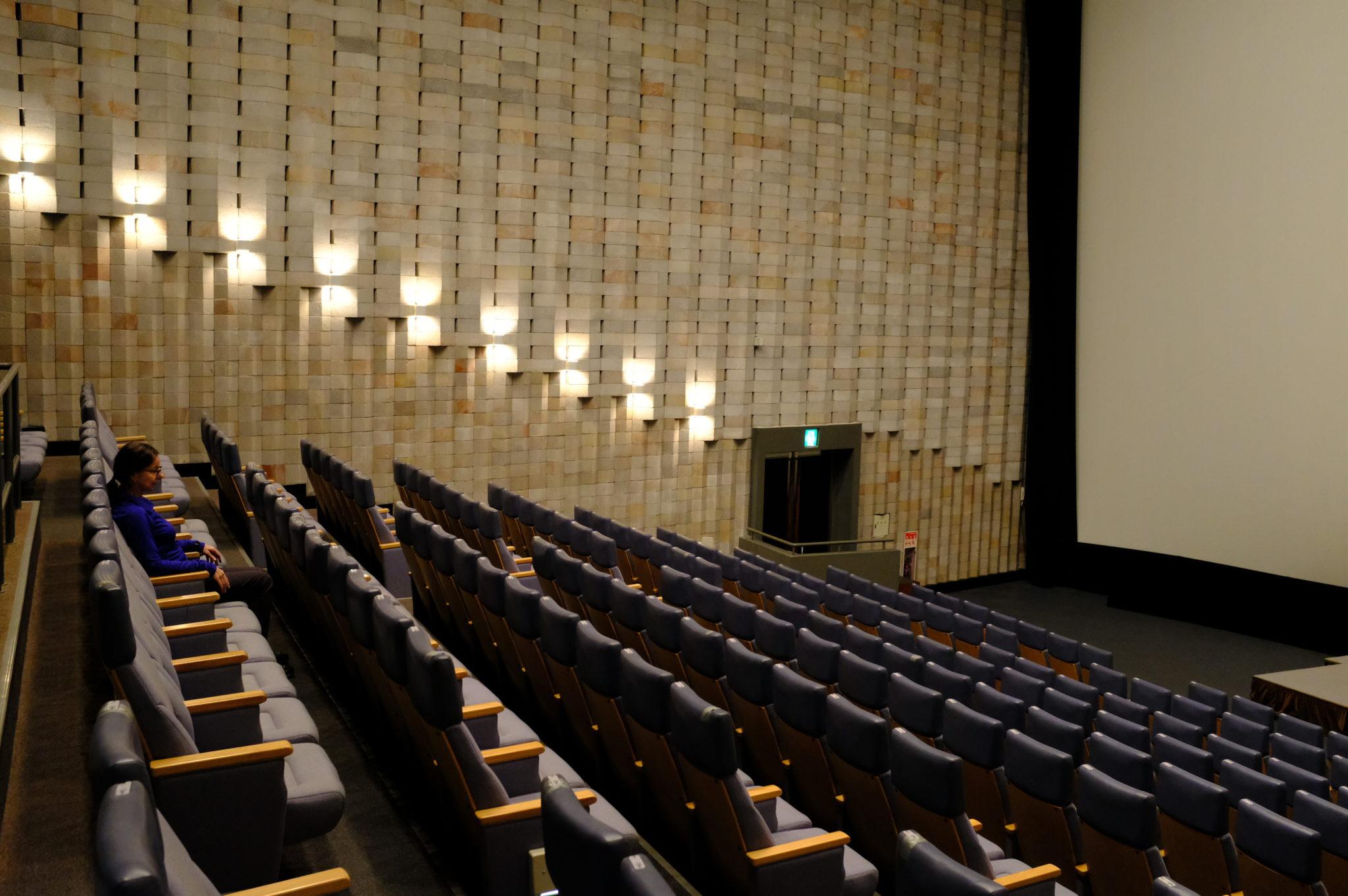 Im KinoWegen Dauerregen im Kino