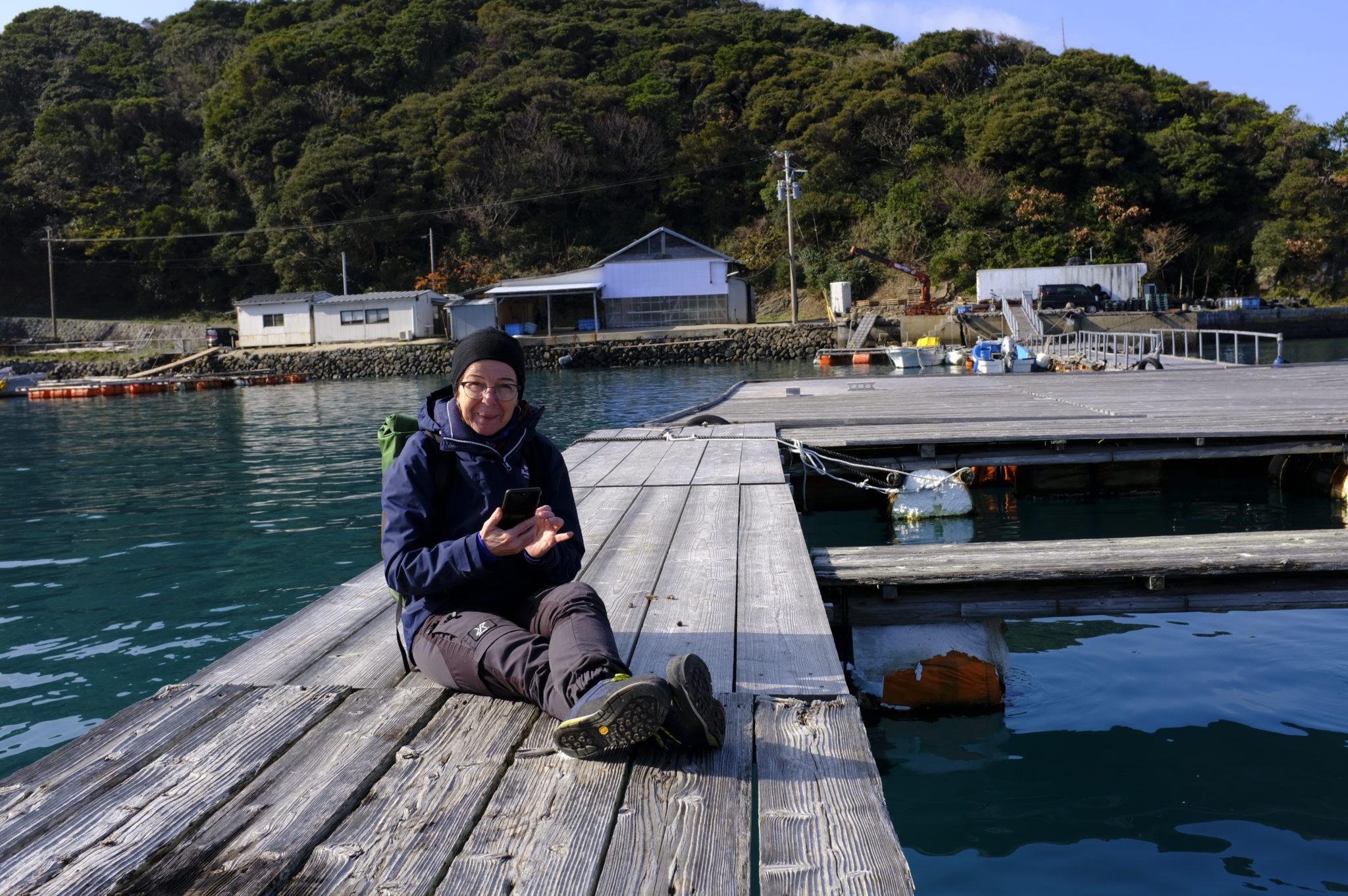 Am kleinen Fischerhafen