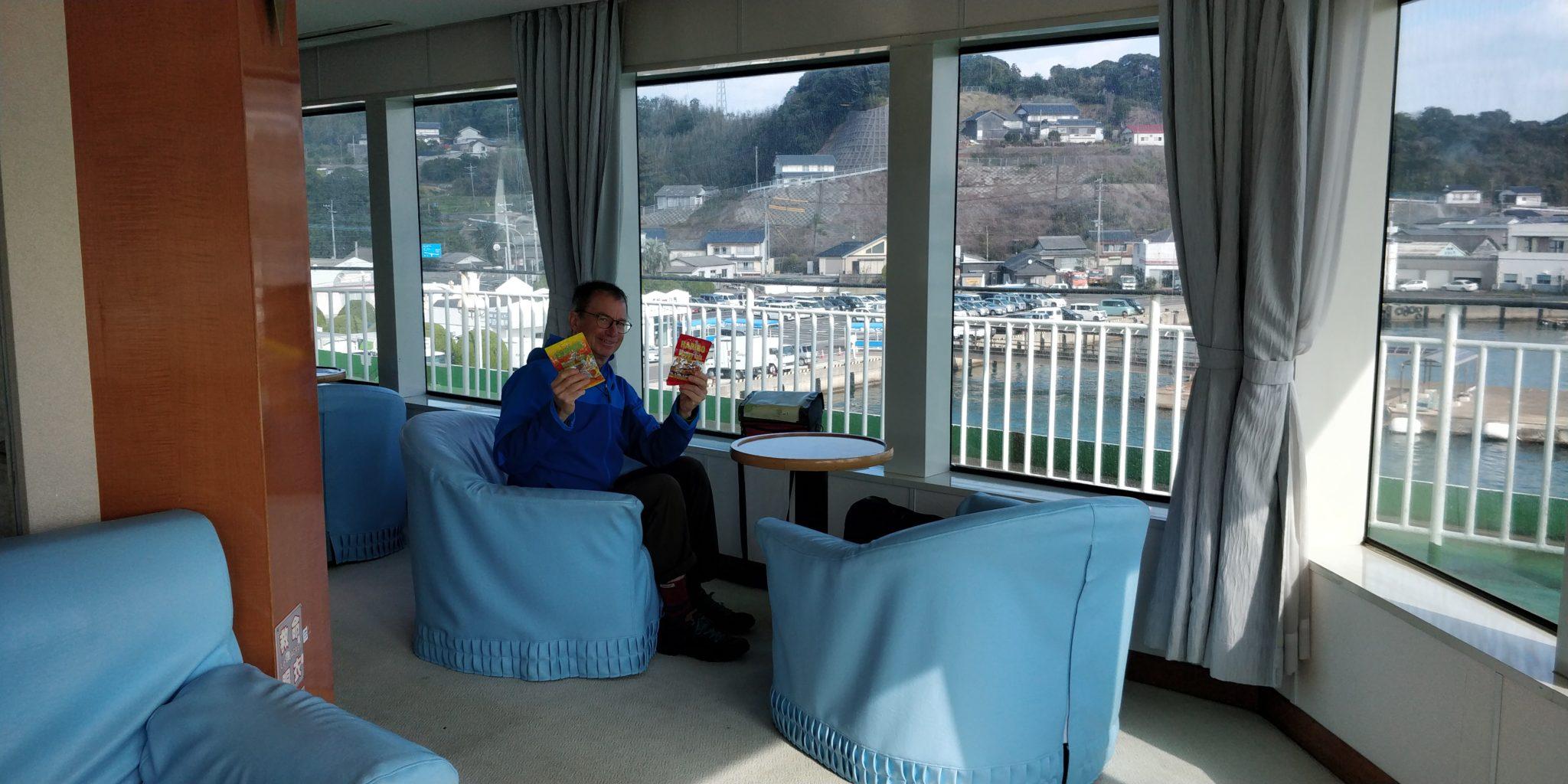 Mittagessen auf dem Schiff